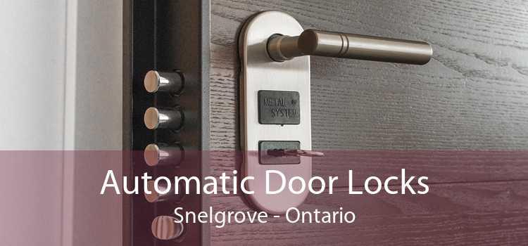 Automatic Door Locks Snelgrove - Ontario