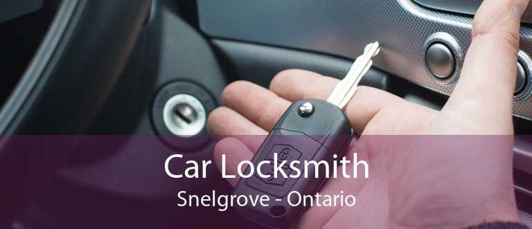 Car Locksmith Snelgrove - Ontario