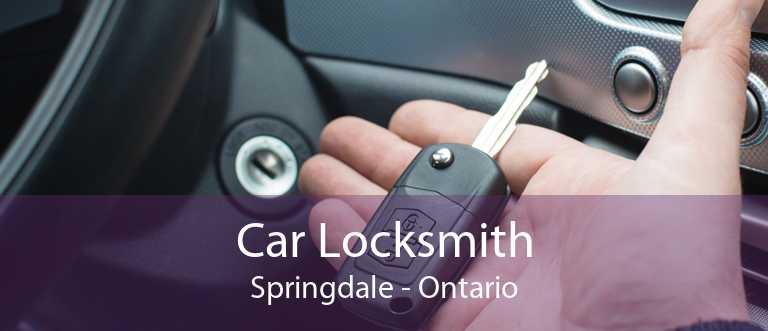 Car Locksmith Springdale - Ontario