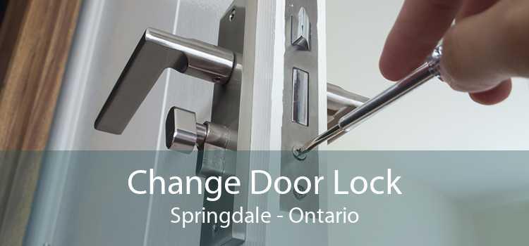 Change Door Lock Springdale - Ontario