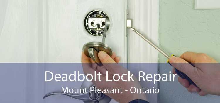 Deadbolt Lock Repair Mount Pleasant - Ontario