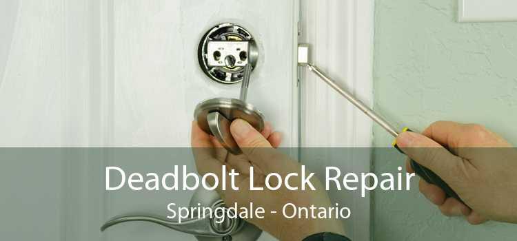 Deadbolt Lock Repair Springdale - Ontario