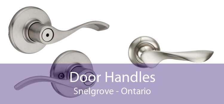 Door Handles Snelgrove - Ontario