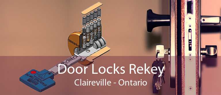Door Locks Rekey Claireville - Ontario