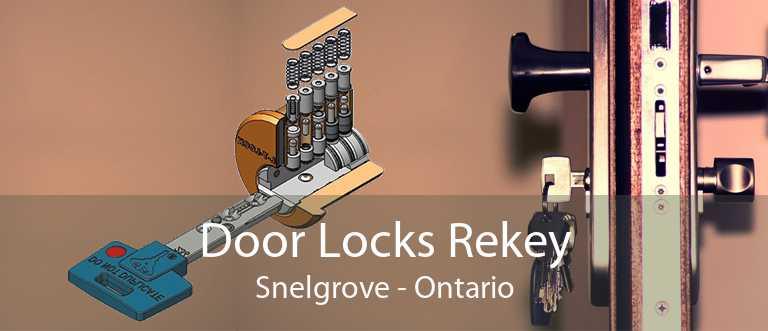 Door Locks Rekey Snelgrove - Ontario