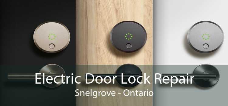 Electric Door Lock Repair Snelgrove - Ontario