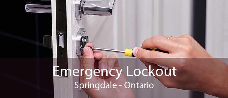 Emergency Lockout Springdale - Ontario