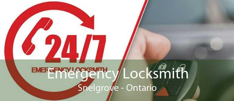 Emergency Locksmith Snelgrove - Ontario