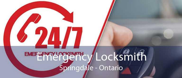 Emergency Locksmith Springdale - Ontario