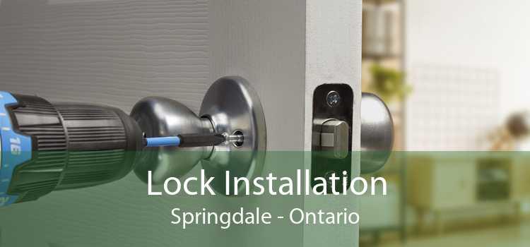 Lock Installation Springdale - Ontario