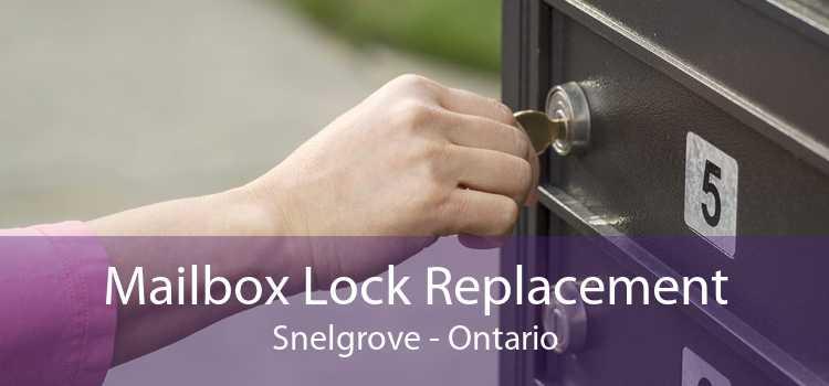 Mailbox Lock Replacement Snelgrove - Ontario