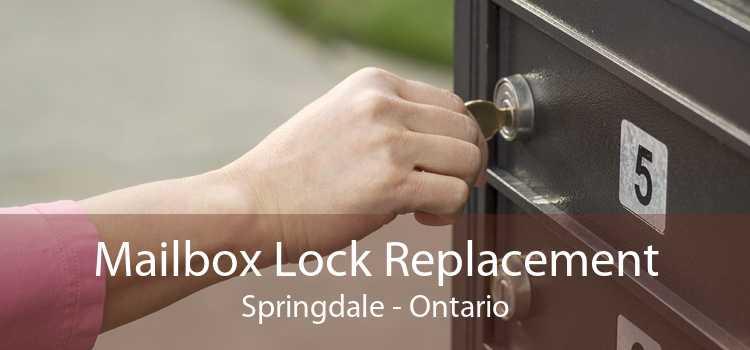 Mailbox Lock Replacement Springdale - Ontario