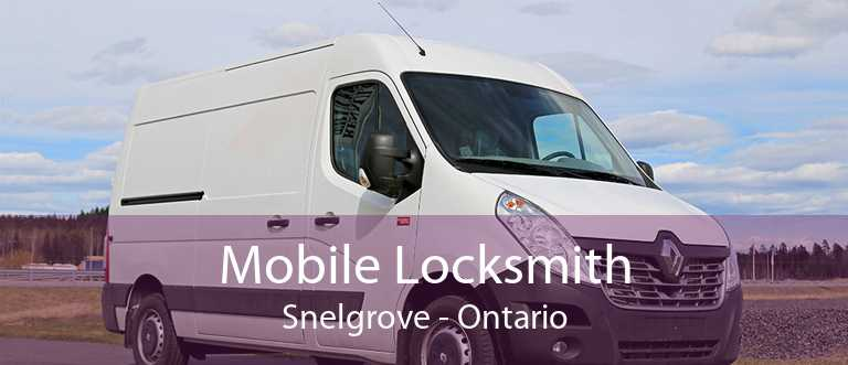 Mobile Locksmith Snelgrove - Ontario