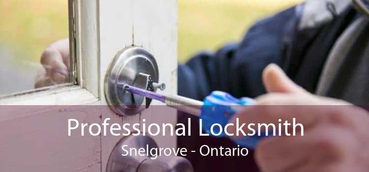 Professional Locksmith Snelgrove - Ontario