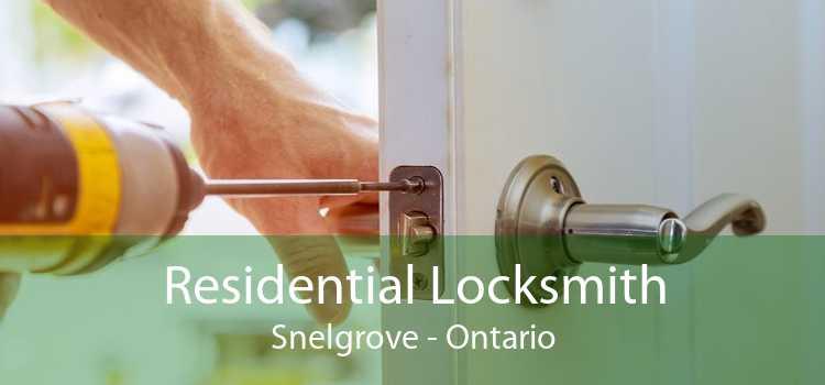 Residential Locksmith Snelgrove - Ontario