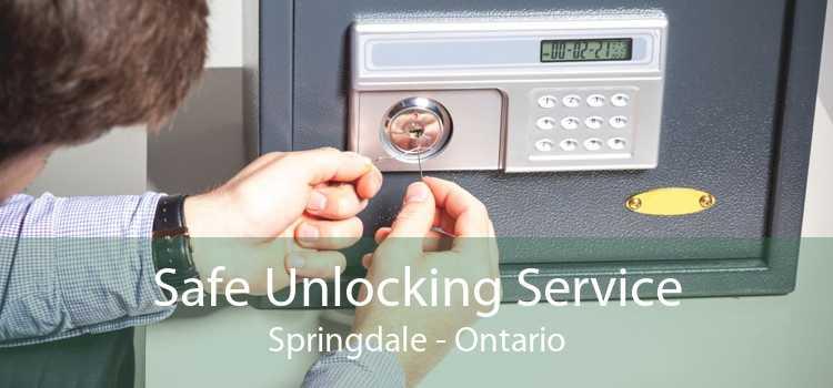 Safe Unlocking Service Springdale - Ontario